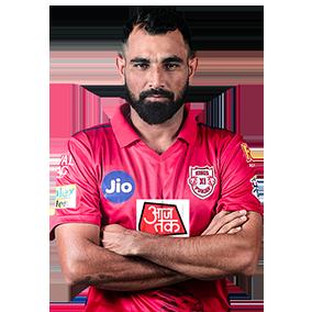 Mohammed Shami Kings XI IPL