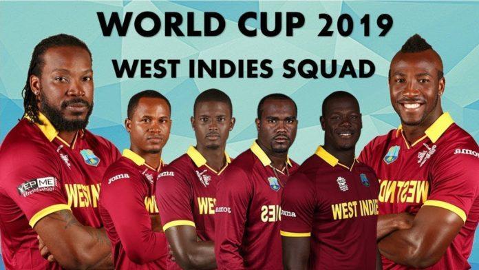 West Indies Cricket Team 2019
