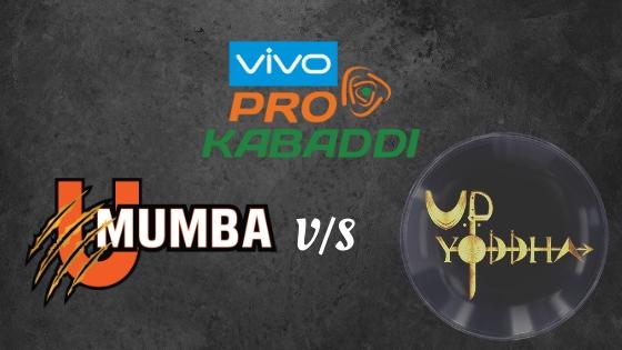 U Mumba v/s UP Yoddha