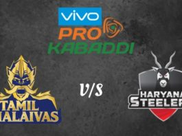 Tamil Thalaivas Vs Haryana Steelers